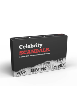 Bubblegum Stuff Celebrity Scandals Card Game
