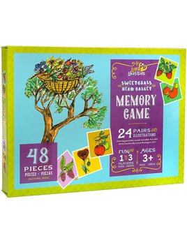 Little Likes Kids Sweetgrass Head Basket Memory Game