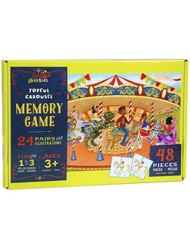 Little Likes Kids Joyful Carousel Memory Game