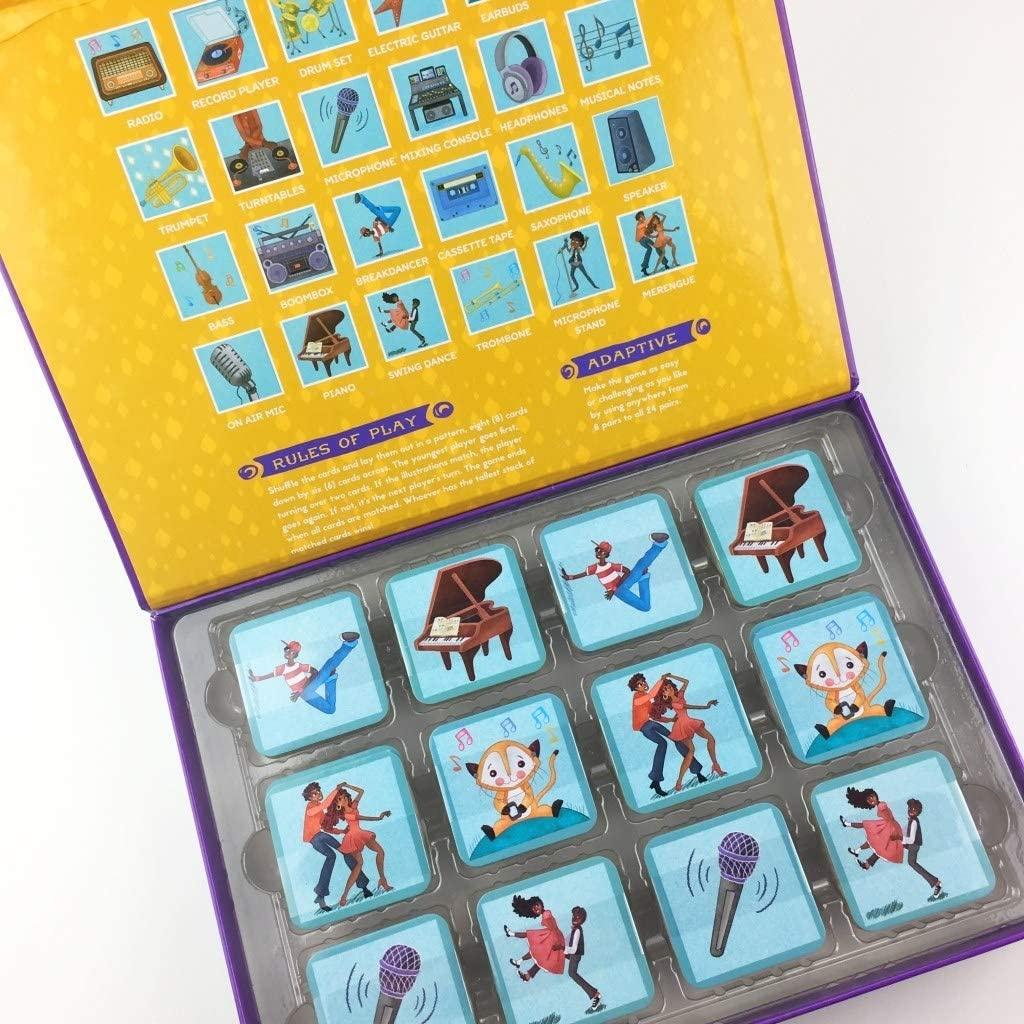 Little Likes Kids Musical Crossroads Memory Game