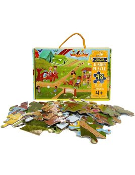 Little Likes Kids Camping Outdoors Jumbo Puzzle - 48Pcs
