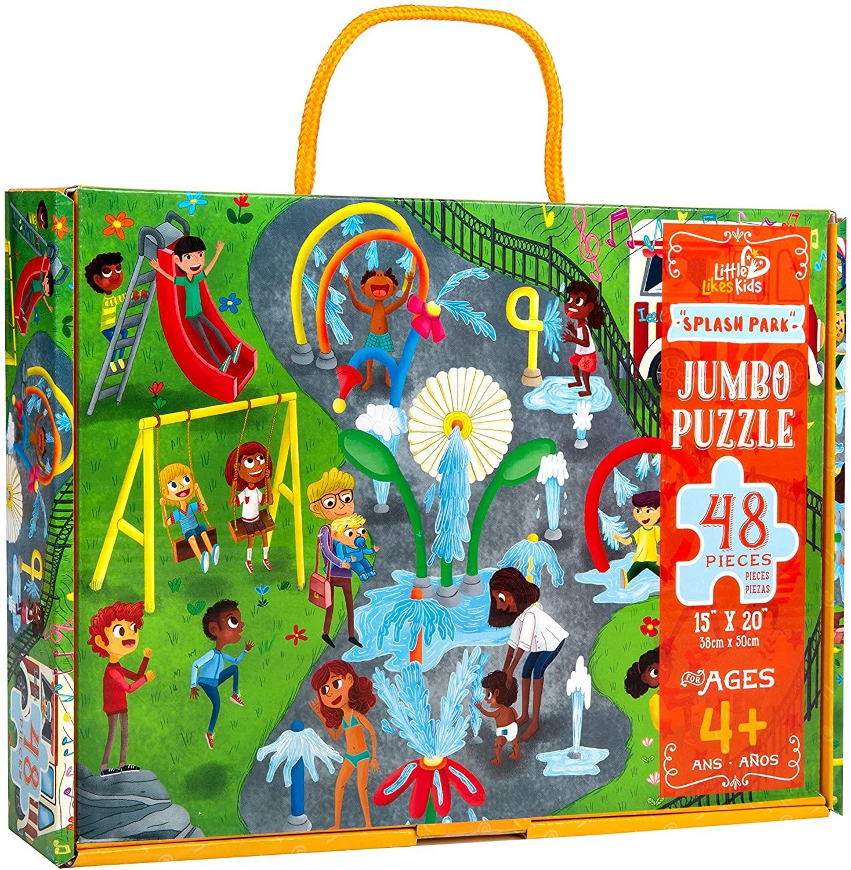Little Likes Kids Splash Park Jumbo Puzzle - 48Pcs