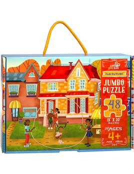Little Likes Kids Fun Outside Jumbo Puzzle - 48Pcs