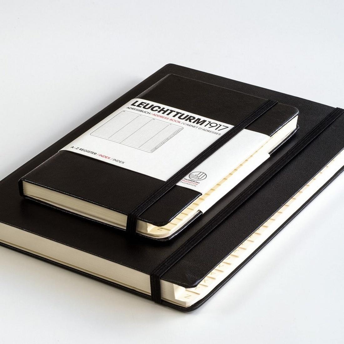 Leuchttrum1917 Address Book w/ Alphabetical Registar - Pocket Size