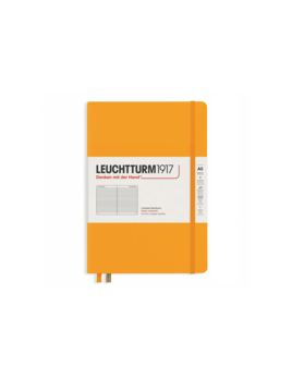 Leuchttrum1917 Rising Colors - Notebooks Hardcover Medium - Rising Sun - Ruled