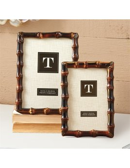 Two's Company Bamboo Photo Frames
