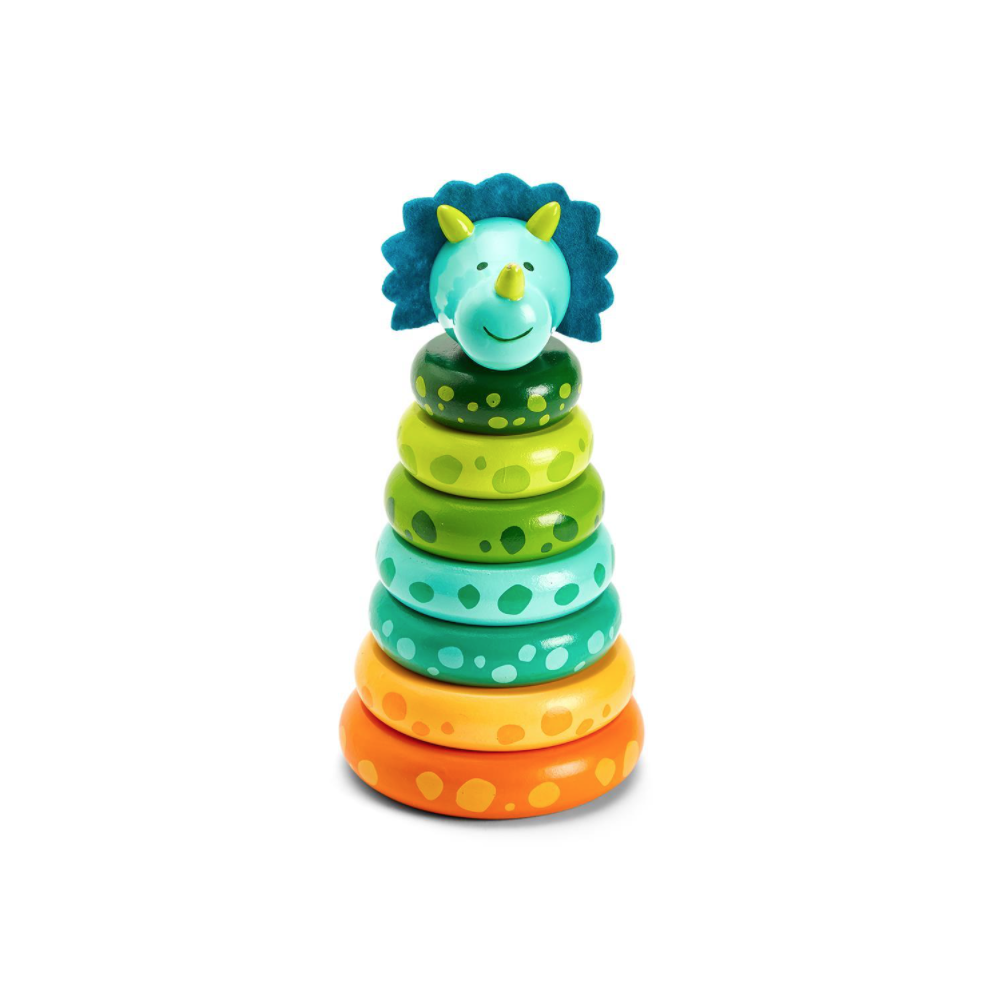 Two's Company Dinosaur Stacking Toy