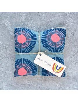Minor Thread Organic Lavender Sachet - Seaside Daisy Blue - Set of 2