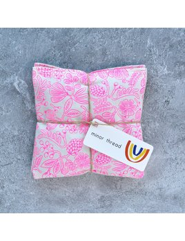 Minor Thread Organic Lavender Sachet - Pink Primavera - Set of 2