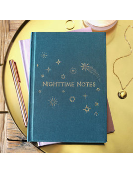 Lisa Angel Two Way 'Morning and Night' Notebook in Green