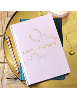Lisa Angel Two Way 'Morning and Night' Notebook in Pink