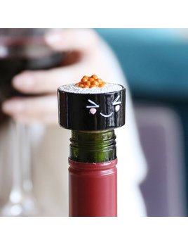 Lisa Angel Maki Sushi Cork Bottle Stopper