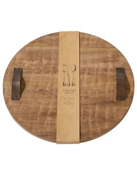 Mudpie Round Oversized Wood Board