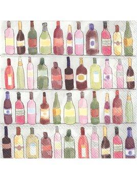 Boston International Wine Shelves - Paper Napkin