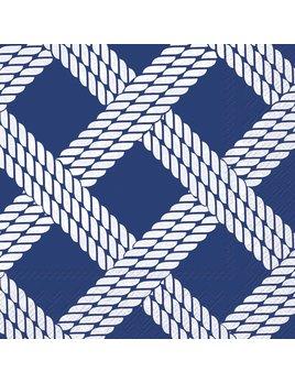 Boston International Sailor's Rope Blue - Paper Napkin