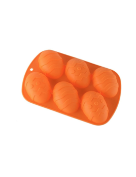 Freeship Wholesale Easter Egg Silicone Mold - Orange