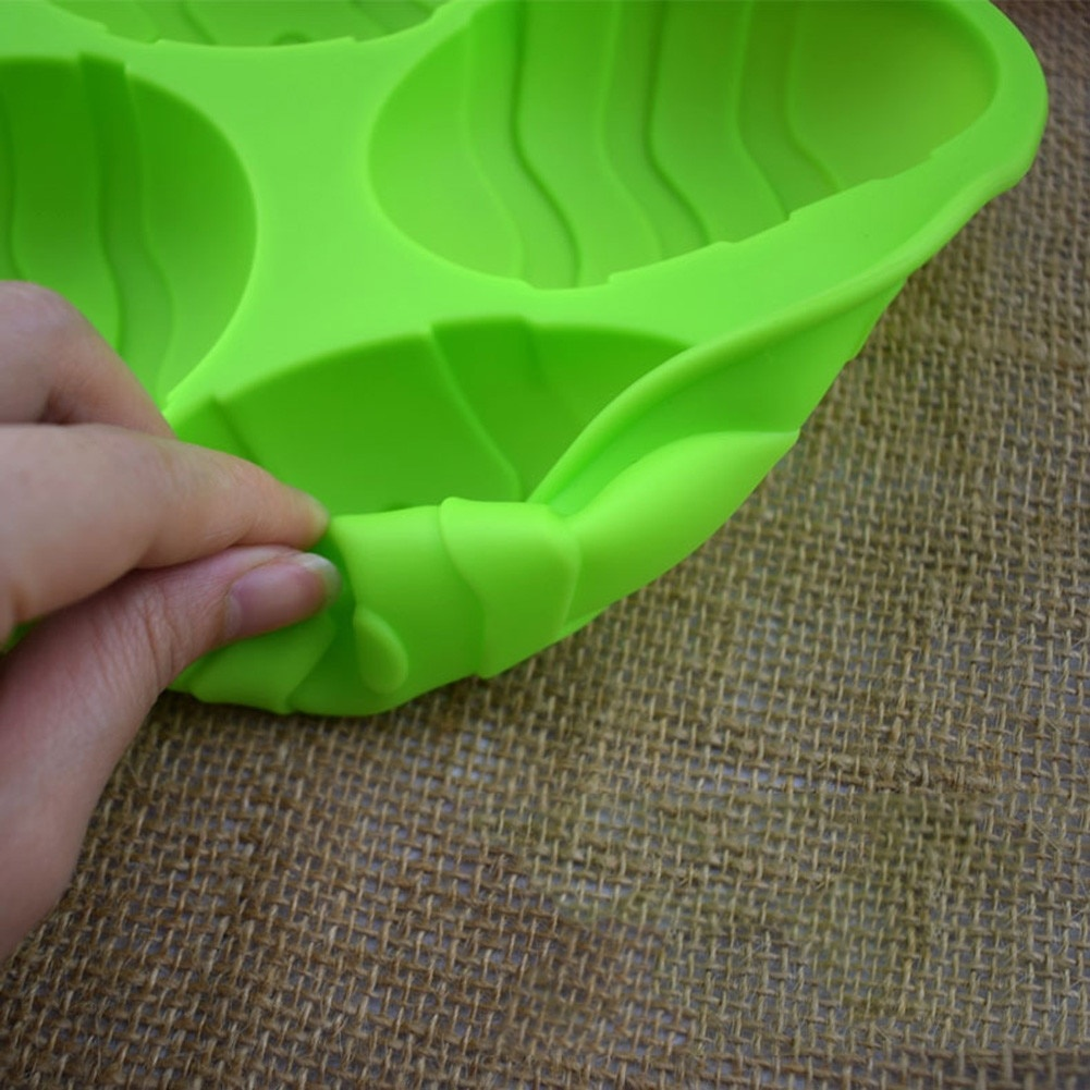 Freeship Wholesale Easter Egg Silicone Mold - Orange