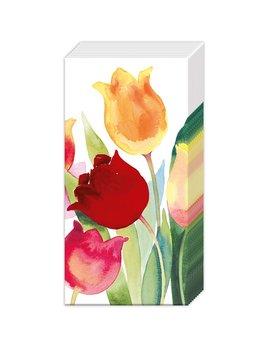 Boston International Powerful Tulips Pocket Tissue