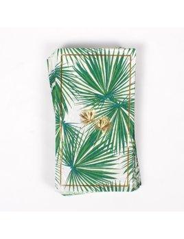 8 Oak Lane Paper Guest Towels - Palm Fans