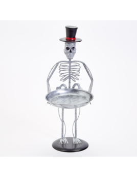 Two's Company Glittered Skeleton Decor