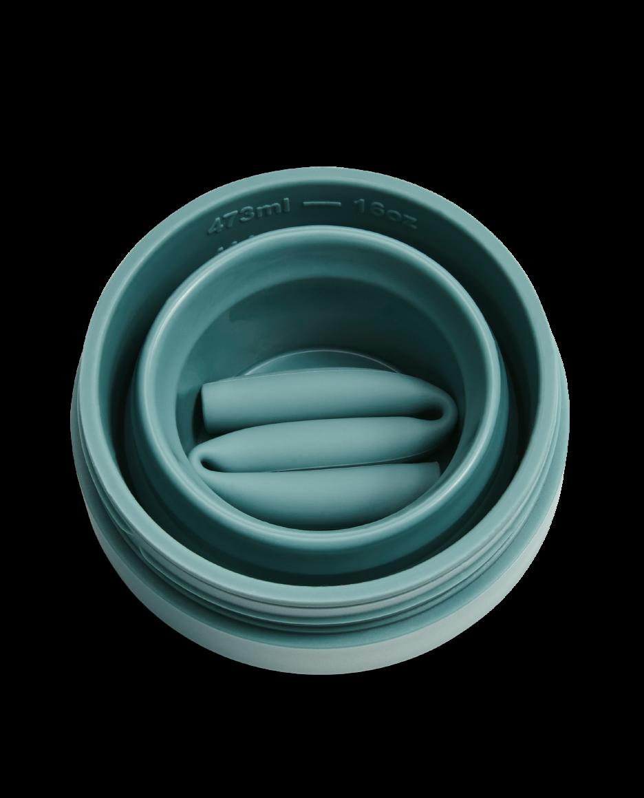 Stojo 16oz Collapsible Cup - Eucalyptus