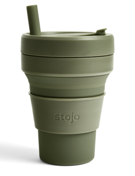 Stojo 16oz Collapsible Cup - Moss