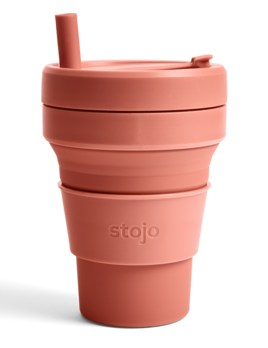 Stojo 16oz Collapsible Cup - Nutmeg