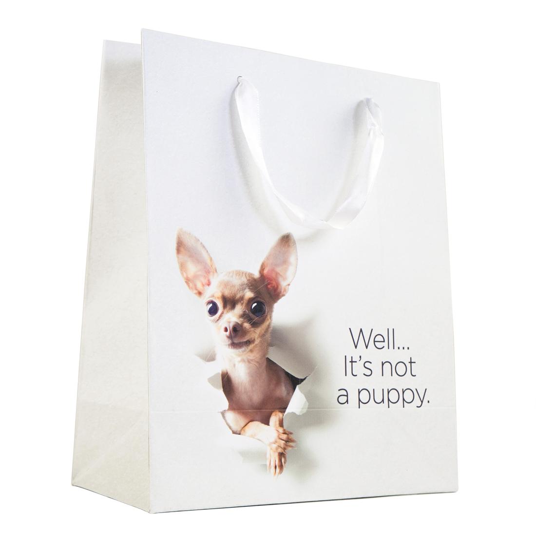 30 Watt Funny Gift Bag: Not a Puppy