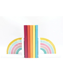 Mary Square Bookends Rainbow