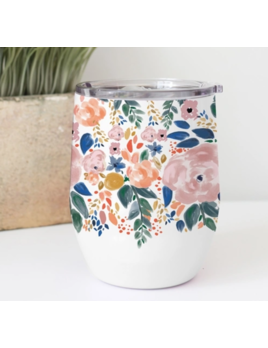 Mary Square Stainless Drink Tumbler Autumn Blossom