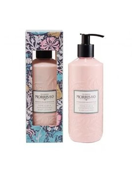 McArdle & Co. William Morris 320ml Pink Clay & Honeysuckle Body Lotion