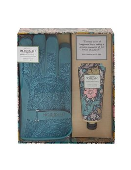 McArdle & Co. William Morris Pink Clay & Honeysuckle Gardening Glove Kit