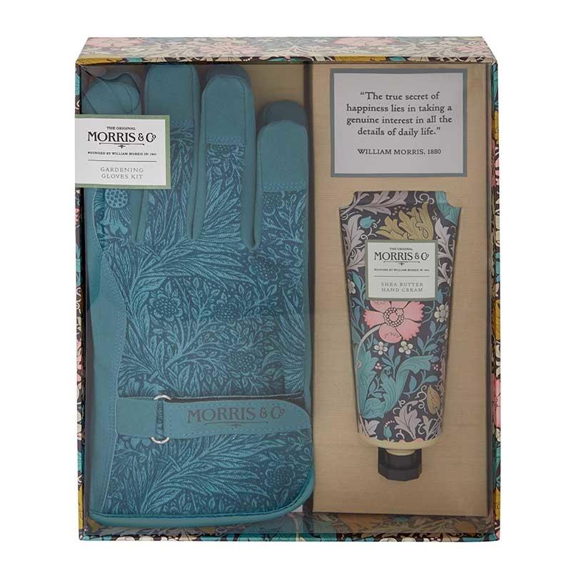 McArdle & Co. William Morris Pink Clay & Honeysuckle Gardening Glove Kit