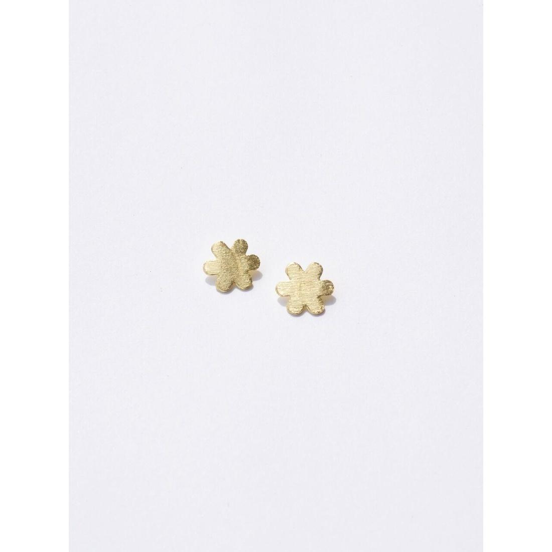 Mata Traders Gold Petite Flower Studs
