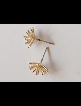 Adorn512 Sunburst Studs - Gold