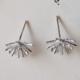 Adorn512 Sunburst Studs - Silver