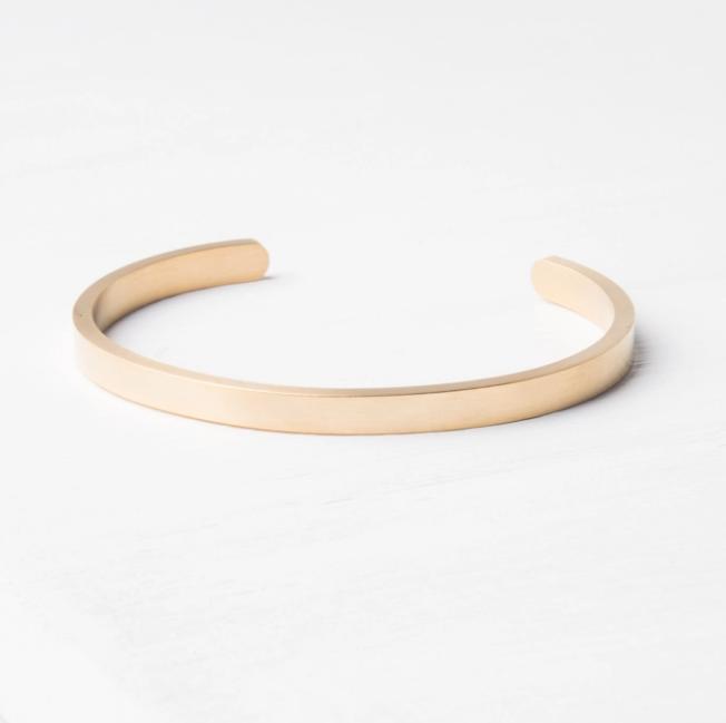 Starfish Project Becca Gold Bar Bracelet