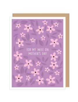 Apartement 2 Cards Periwinkle For Wife Mother's Day Card
