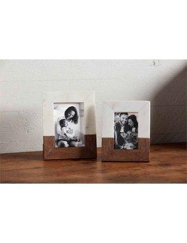 Mudpie Wood & Marble Frame