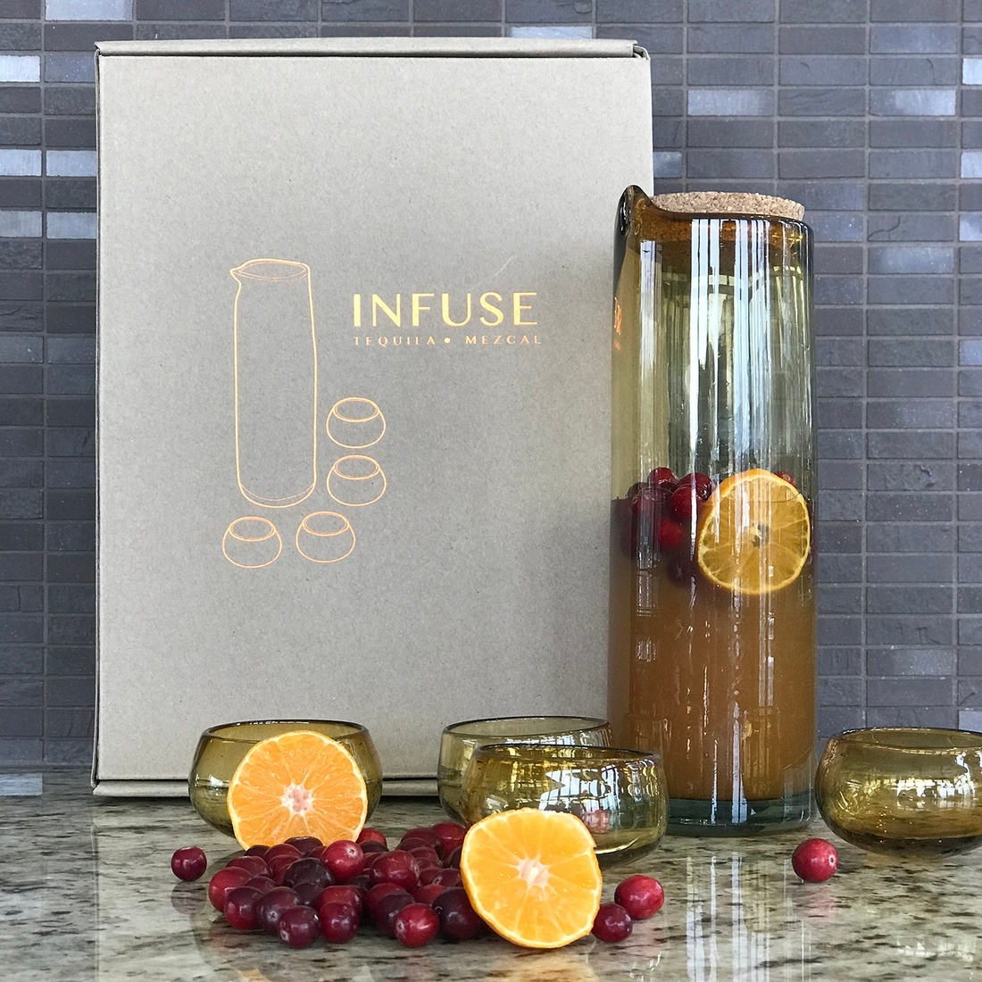 Verve Culture INFUSE - Mezcal & Tequila Infusion & Tasting Kit