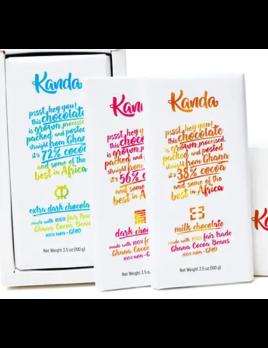 Kanda Chocolates Fair Trade Chocolate Bar