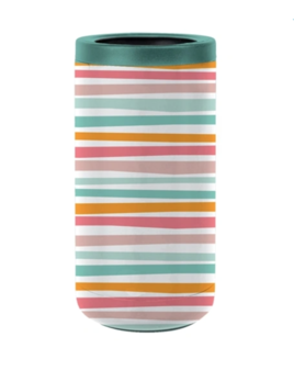 Mary Square Stainless Skinny Can Cooler - Swept Away