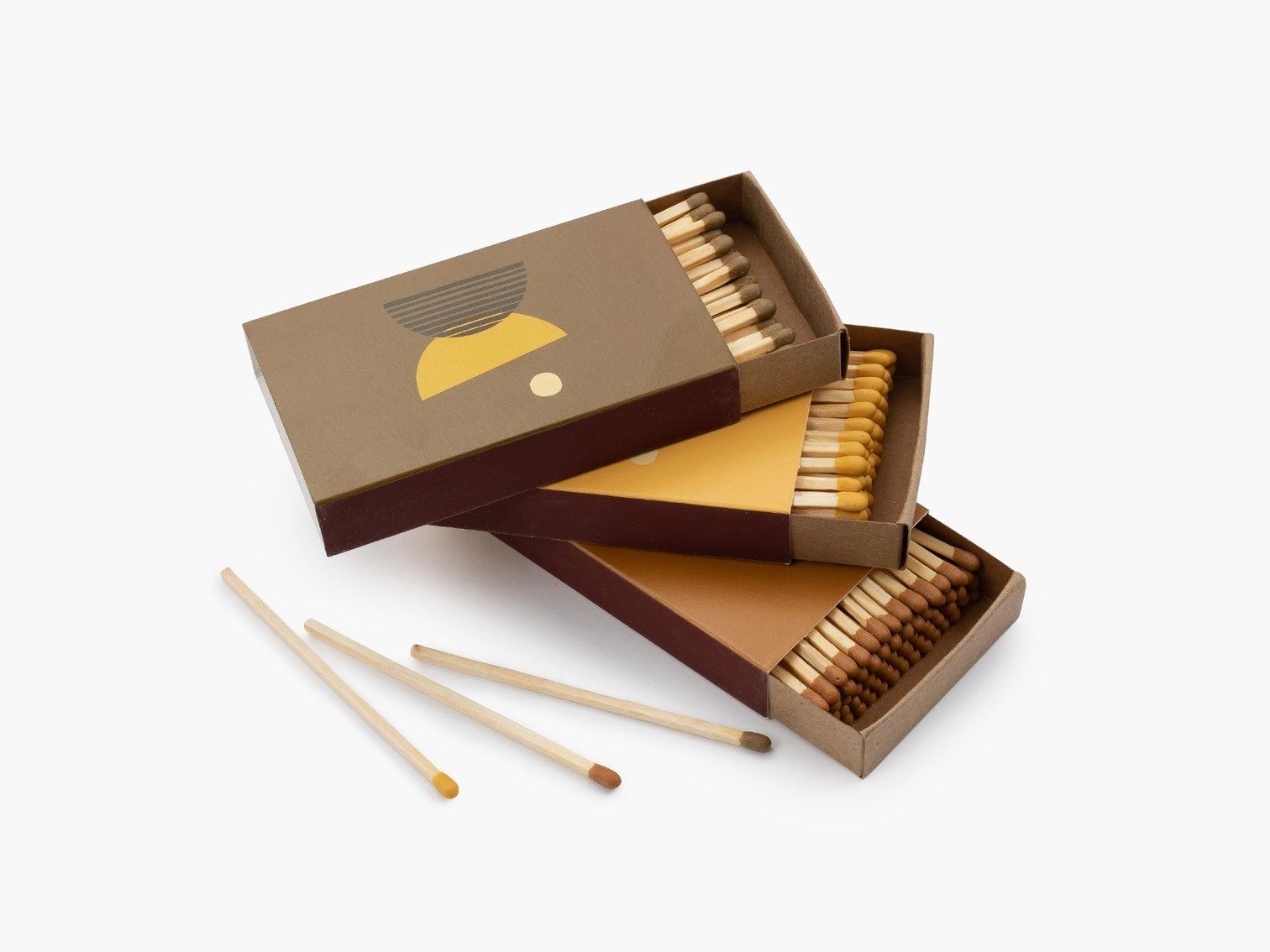 P F Candle Co. Golden Hour Matchbooks