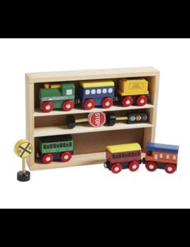 Mudpie Boxed Wood Train Set