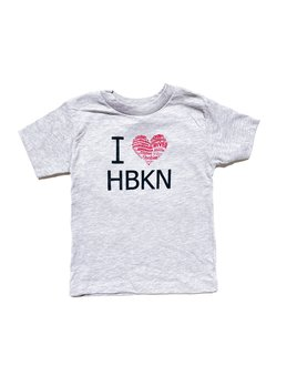 Charley & Hudson I Heart HBKN Toddler T-Shirt