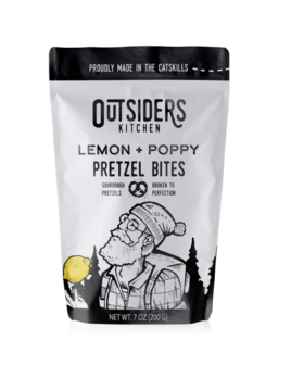 Outsiders Lemon & Poppy Pretzels