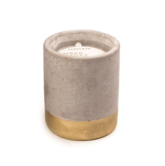 Paddywax Urban Concrete Candle 3.5 oz