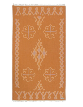 Sand Cloud Honey Stamped Moroccan Towel