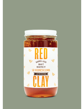 Red Clay Hot Sauce Hot Honey w/ Honeycomb