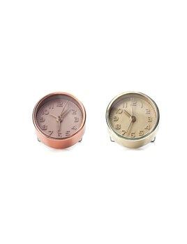 Kikkerland Copper and Gold Alarm Clock